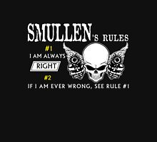 SMULLEN  Rule #1 i am always right. #2 If i am ever wrong see rule #1 - T Shirt, Hoodie, Hoodies, Year, Birthday T-Shirt