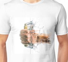 Punch Out Hand Check Unisex T-Shirt