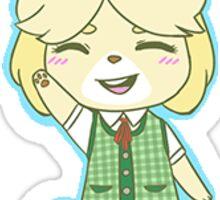 Isabelle Animal Crossing Sticker Sticker