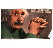 Einstein 3 Poster