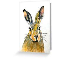 Hare 36 Greeting Card