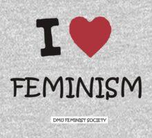 DMU - I ♥ Feminism  Kids Tee