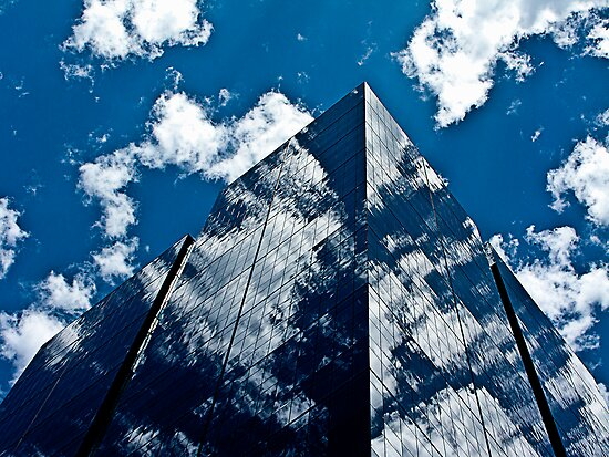 Glass towers by collpics