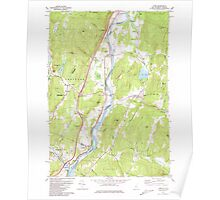 USGS TOPO Map New Hampshire NH Lyme 329643 1981 24000 Poster
