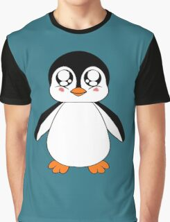Adorable Penguin Graphic T-Shirt