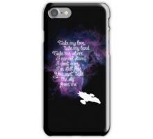 Firefly theme (The Ballad of Serenity) iPhone Case/Skin