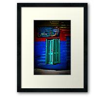 La Shutters Framed Print