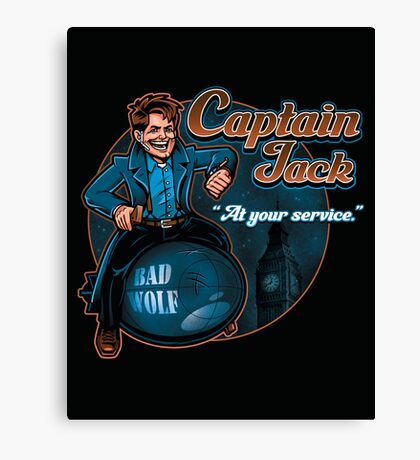 Captain Jack Canvas Print