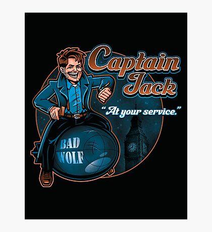 Captain Jack Photographic Print