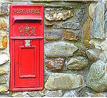 The Red Irish Post Box Photographic Print