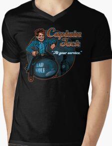 Captain Jack Mens V-Neck T-Shirt