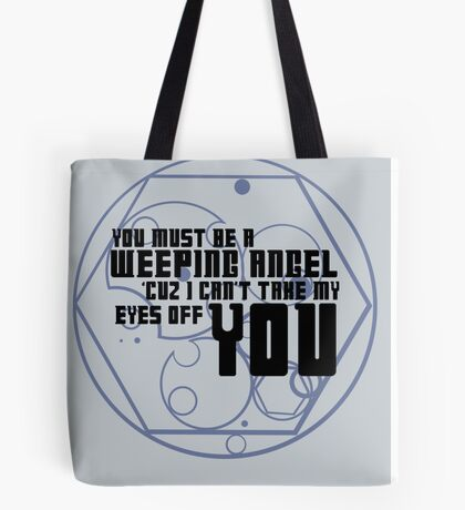 Must be an angel Tote Bag