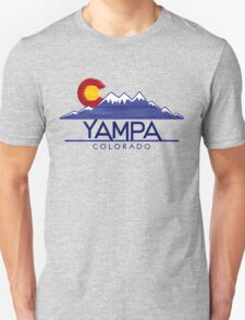 Yampa Colorado wood mountains T-Shirt