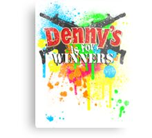 Denny's is for Winners Metal Print