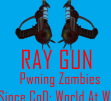 Ray Gun Sticker