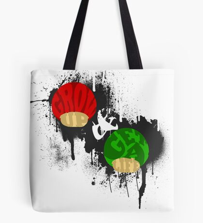Grow Up and Get a Life Dark Tote Bag