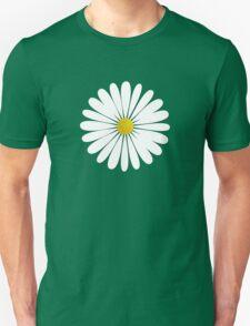 Daisy Flowers, Petals, Blossoms - White Yellow  Unisex T-Shirt