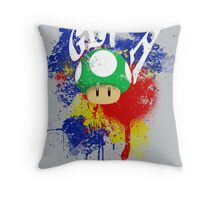Get a Life Throw Pillow