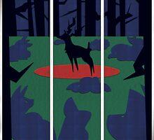 Danger en forêt. by UmbreoNoctie