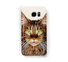 Fractalius Maine Coon Cat Samsung Galaxy Case/Skin