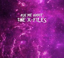 Ask Me About The X-Files by subject13fringe