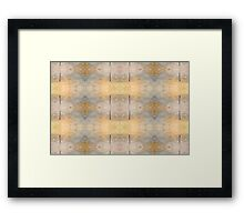 Golden Dreams Repeated Framed Print
