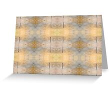 Golden Dreams Repeated Greeting Card