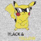 distressed pikachu by Lith1um