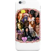 X-files Dana Scully - Collage iPhone Case/Skin