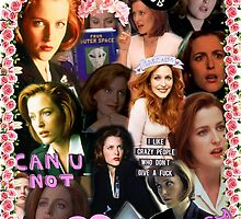 X-files Dana Scully - Collage by ArcanePandora