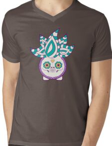 Oddish Pokemuerto | Pokemon & Day of The Dead Mashup Mens V-Neck T-Shirt