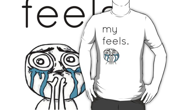 Tumblr Clothing - My Feels by Sam Ryan