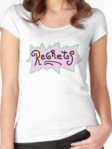 Regrets - Rugrats T-Shirt Women's Fitted Scoop T-Shirt