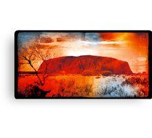 Uluru Ayers Rock Australia Canvas Print