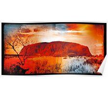 Uluru Ayers Rock Australia Poster
