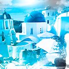 Santorini Greece by Jeff Kaster