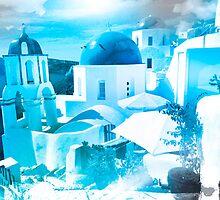 Santorini Greece by Jeff Kaster