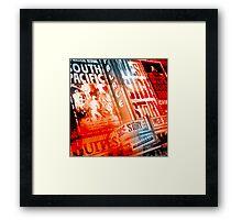 New York City - Times Square  Framed Print