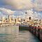 Westhaven Marina and CBD, Auckland, New Zealand by Linda and Colin McKie