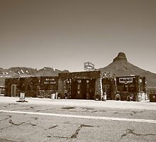 Route 66 - Cool Springs Camp by Frank Romeo