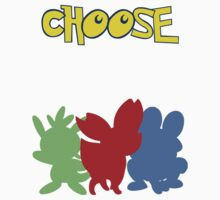 Pokémon X-Y, choose your starter! by ReiDreambinder