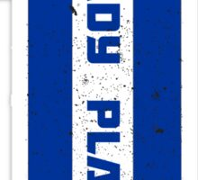 Ready Player One Number Blue Sticker