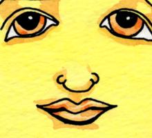 Solstice Sun Sticker