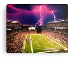 Gillette Stadium home of the New England Patriots art Metal Print