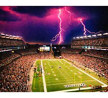 Gillette Stadium home of the New England Patriots art Photographic Print