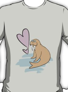 Hippy Love Walrus T-Shirt