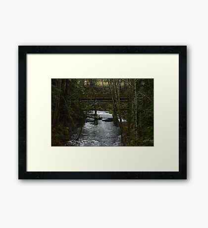 Rapidly Approaching Framed Print