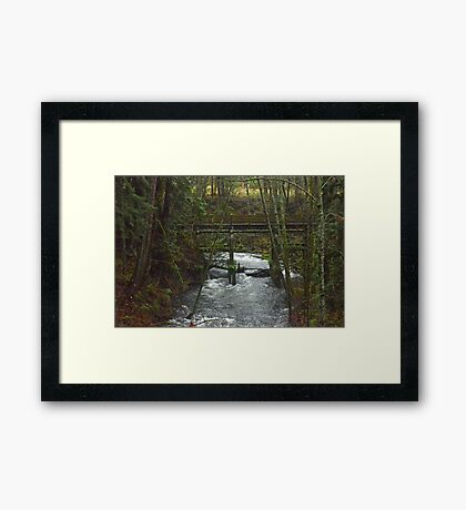 Rapidly Approaching 2 Framed Print