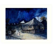 brisbane summer storm Art Print