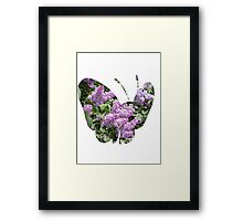 Butterfree used Silver Wind Framed Print